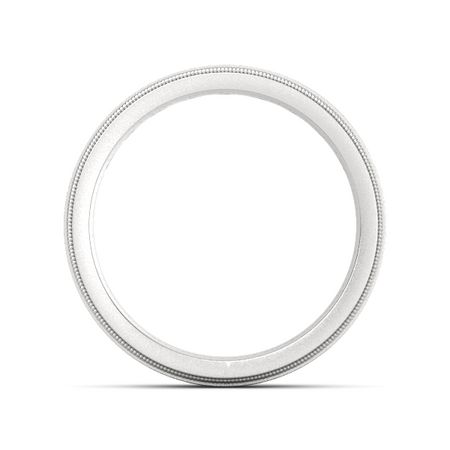 Milgrain Crown Band (3mm round-cut)