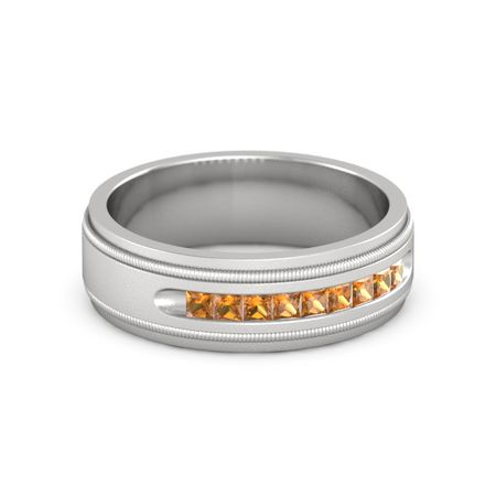 Milgrain Crown Band (2mm gem)