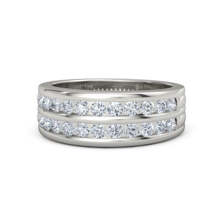 821716ead57 14K White Gold Ring with Diamond