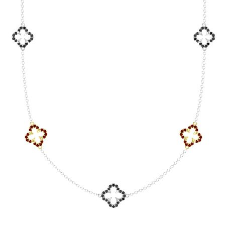 Abbey Five-Station Necklace