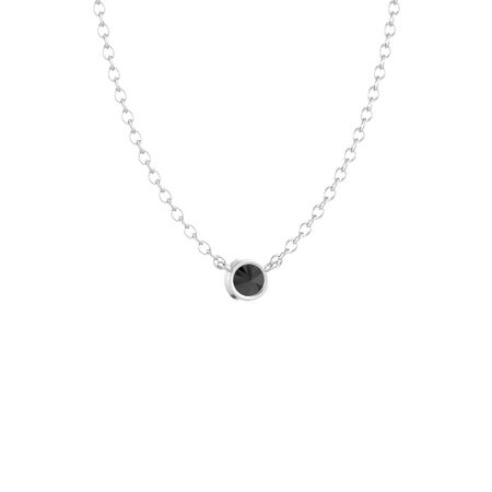 Gemstones by the Yard Solitaire Necklace (4mm gem)