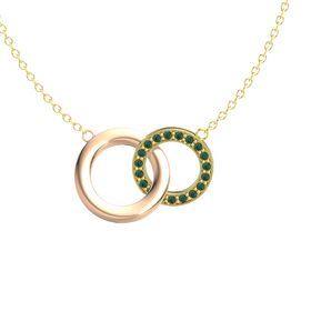 14K Yellow Gold Necklace with Alexandrite
