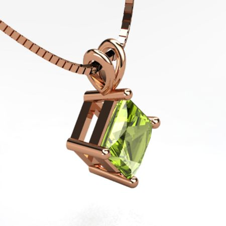 Princess Solitaire Pendant