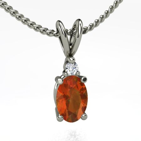 Brilliant Oval Pendant