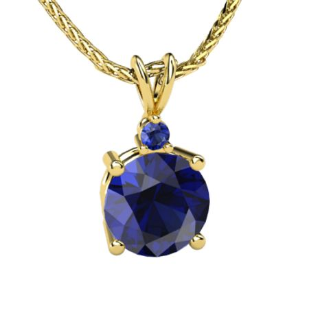 Large Brilliant Solitaire Pendant