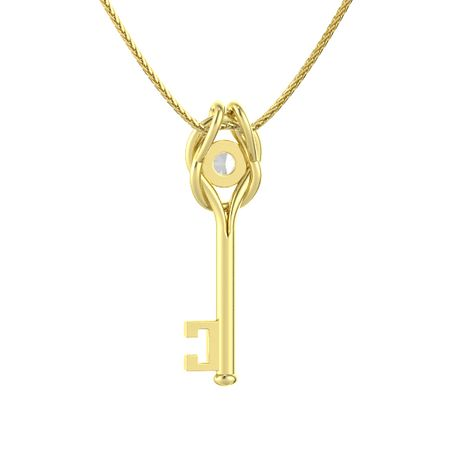 Hercules Knot Key Necklace