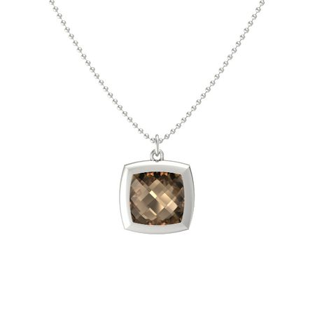 Pure Cushion Bezel Pendant