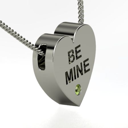 Be Mine Candy Heart Necklace
