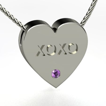 XOXO Candy Heart Necklace