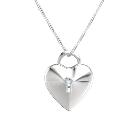 Unlock My Heart Pendant
