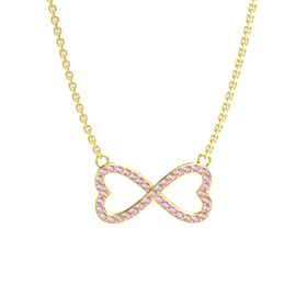 Brilliant Infinity Heart Pendant