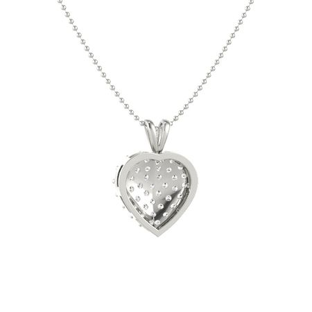 Brilliant Heart Cluster pendant