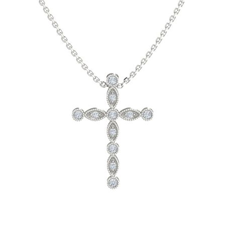 Intricate Cross Pendant