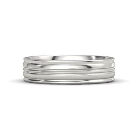 Lathe Wedding Band