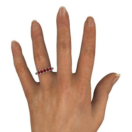 Ivy Five-Stone Band (3.5mm gems)