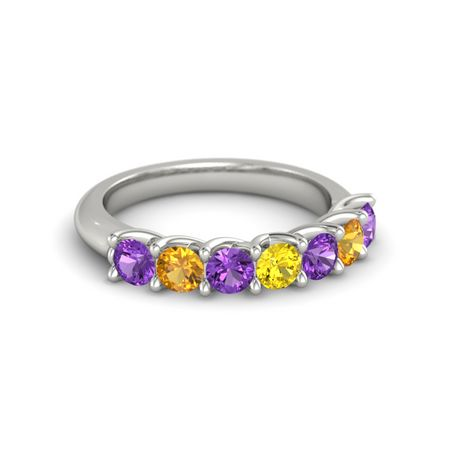 Ivy Seven-Stone Band (3.5mm gems)