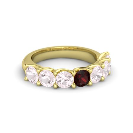 Ivy Seven-Stone Band (4.5mm gems)
