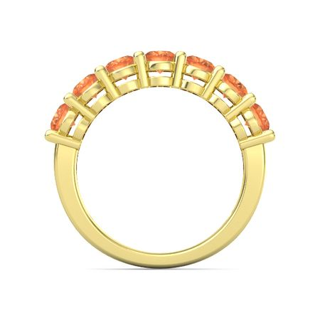 Seven-Stone Gala Band (6mm gems)