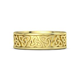 King Triquetra Band (7.6 mm)