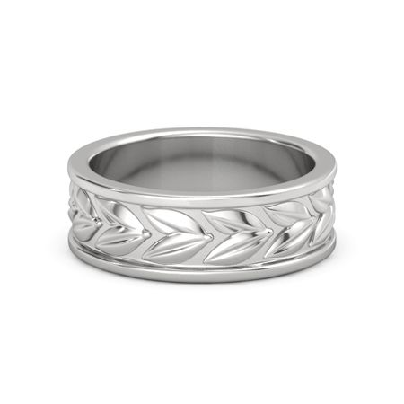 Laurel Wreath Band (7.6mm)