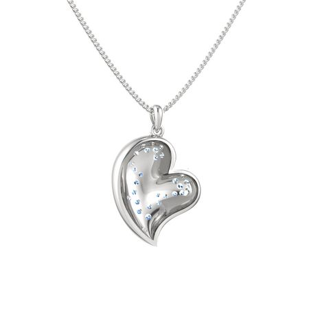 Heart's Wave Pendant