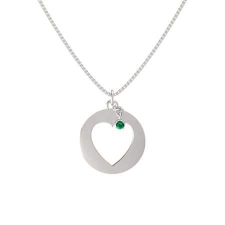Whole Heart Silhouette Pendant