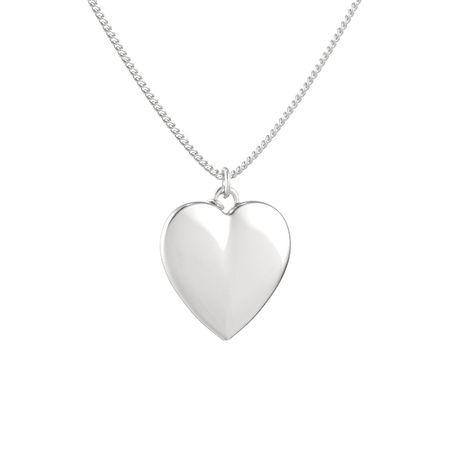 Skylight Heart Gem Pendant (Satin-Finish)