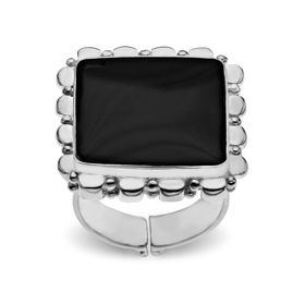 Black Shell Ring