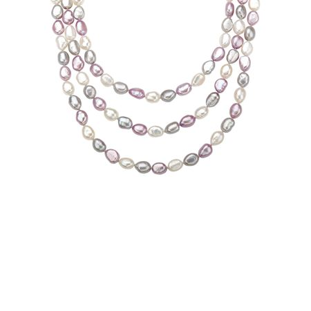 Multi-Color Pastel Pearl Strand
