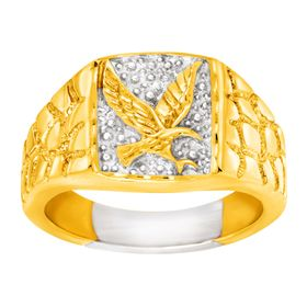 Men's Eagle Signet Ring