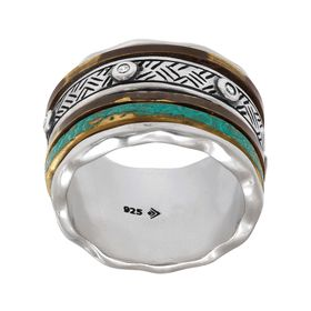 Isabella Spinner Ring