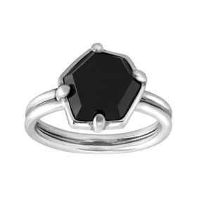 Black Hex Ring