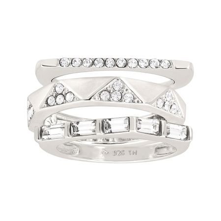 Modern Edge Stacking Rings
