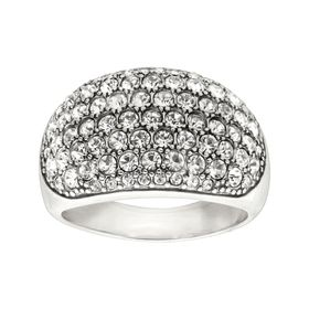 Embellished Pavé Ring
