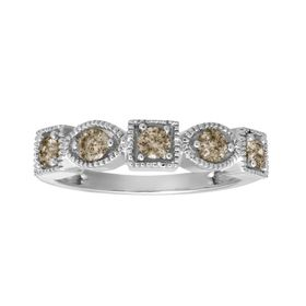 1/2 ct Champagne Diamond Ring