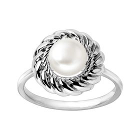 Pearl-fectly Poised Ring