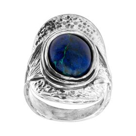 Azurite As Rain Ring