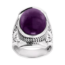 Purple Prestige Ring
