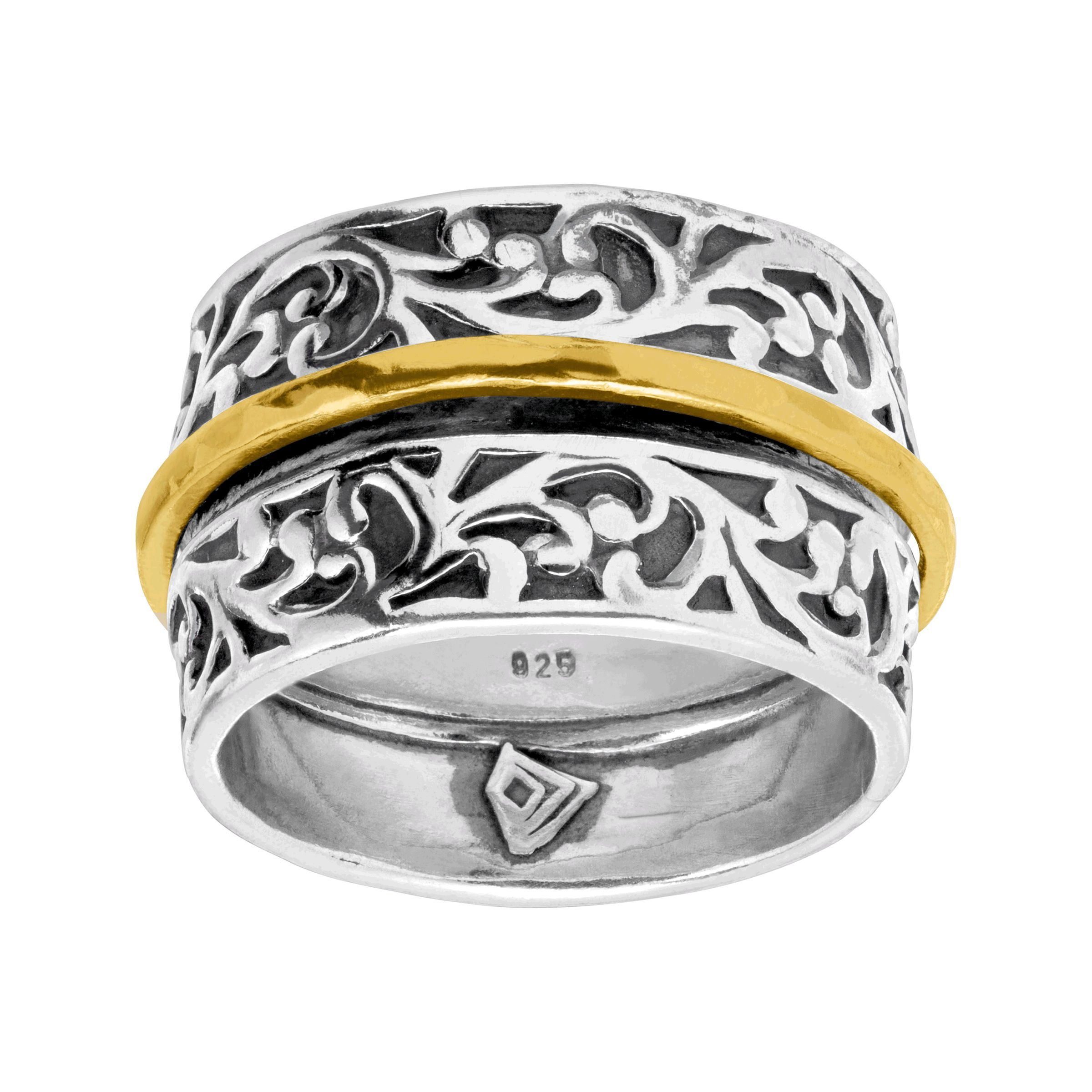 Silpada  Twice As Bright  Filigree Spinner Ring in Sterling Silver ... 54b8628a2b4f0