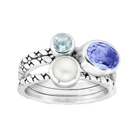 Oceanview Stacking Rings