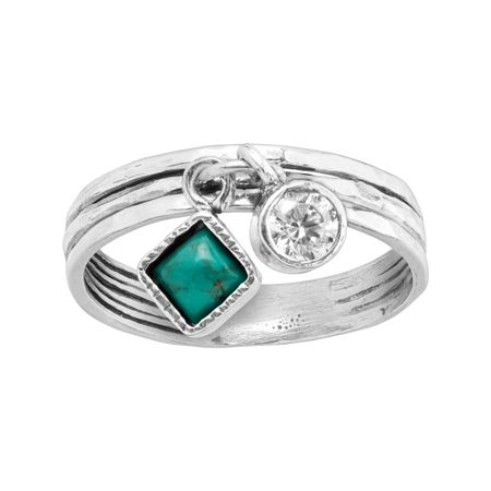Dream in Blue-Green Ring