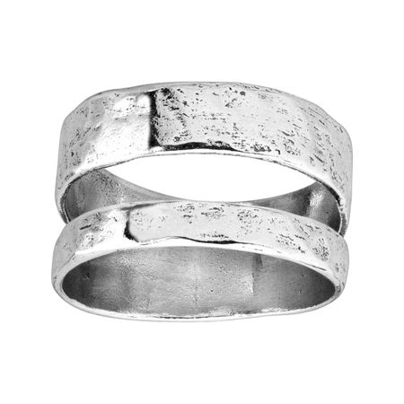 Double Spaced Ring