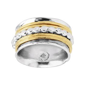 Amaryllis Spinner Ring