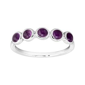 February Celebration Collection Five-Stone Ring