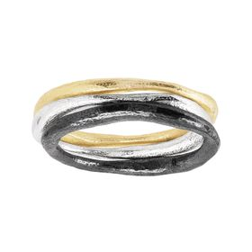 Sheer Luck Stacking Rings
