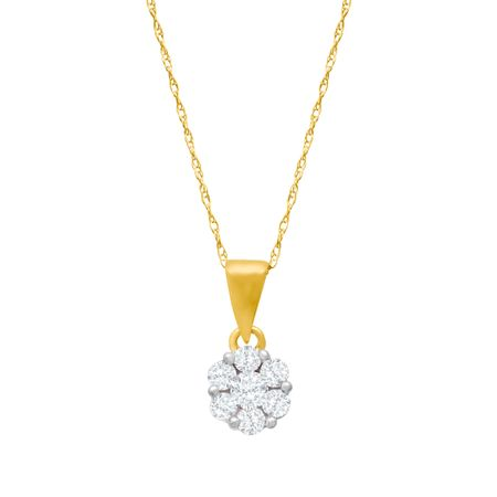 1/2 ct Diamond Pendant