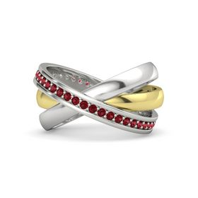 14K Yellow Gold Ring with Ruby