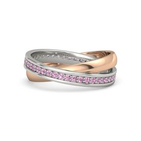 Palladium Ring with Pink Tourmaline