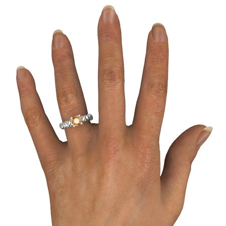 Hearts Jubilee Solitaire Ring