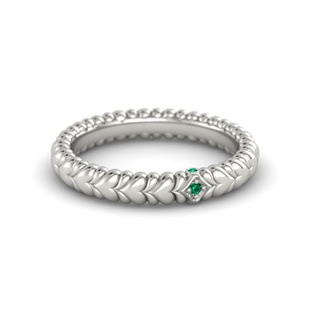 Ecstatic Heart Solitaire Band